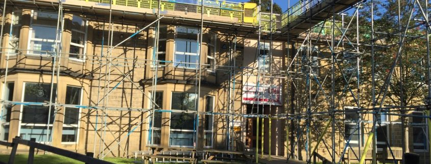 school building work contractors